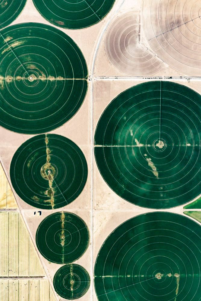 Irrigation Circles by Daniel Reiter