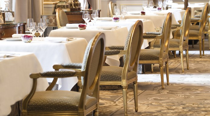 Le Cinq Restaurant 2015 close up chairs.jpg