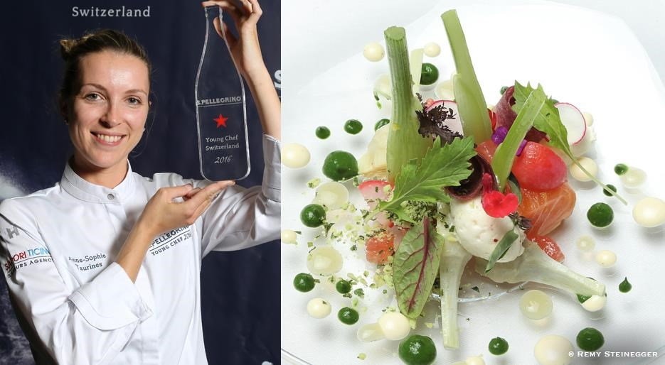 anne sophie taurines s pellegrino young chef suisse