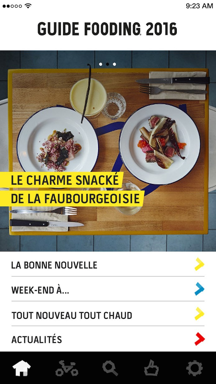 application-le-fooding-page-accueil