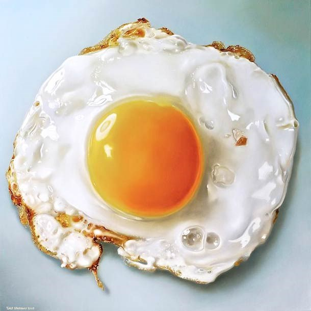 food painting oeuf