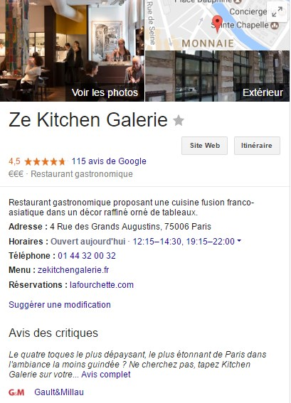 google critique ze kitchen galerie