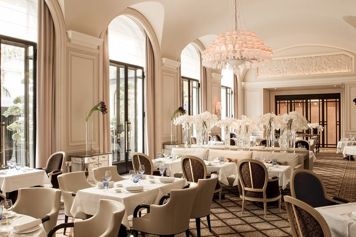 restaurant le george paris