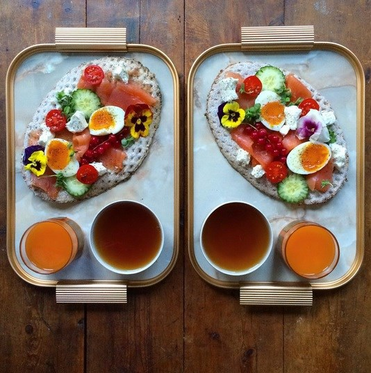 symmetry breakfast saumon