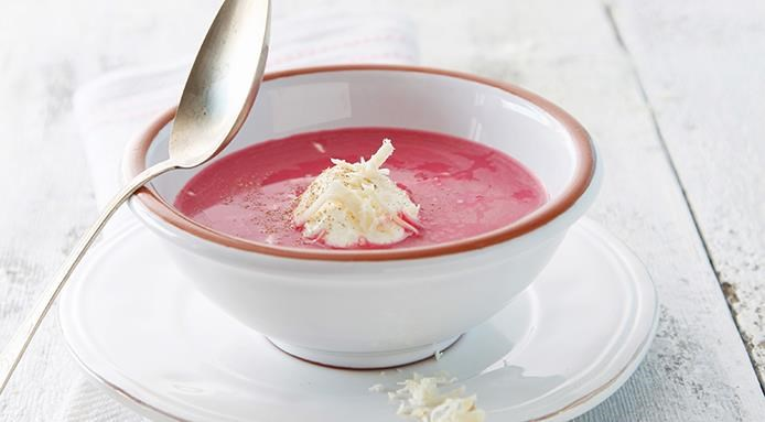 Velouté de betteraves rouges