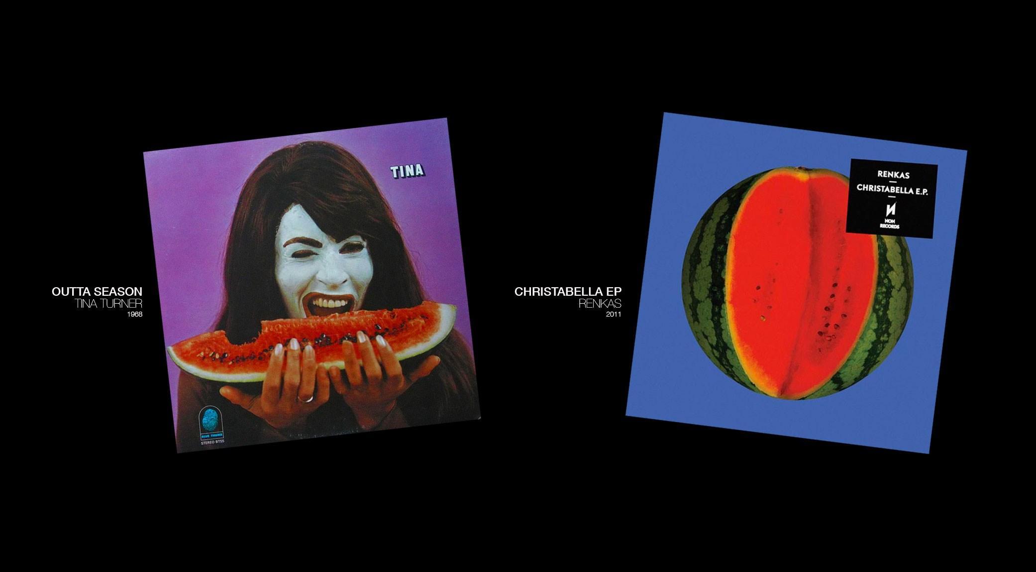 Outta Season, Tina Turner | Christabella EP, Renkas