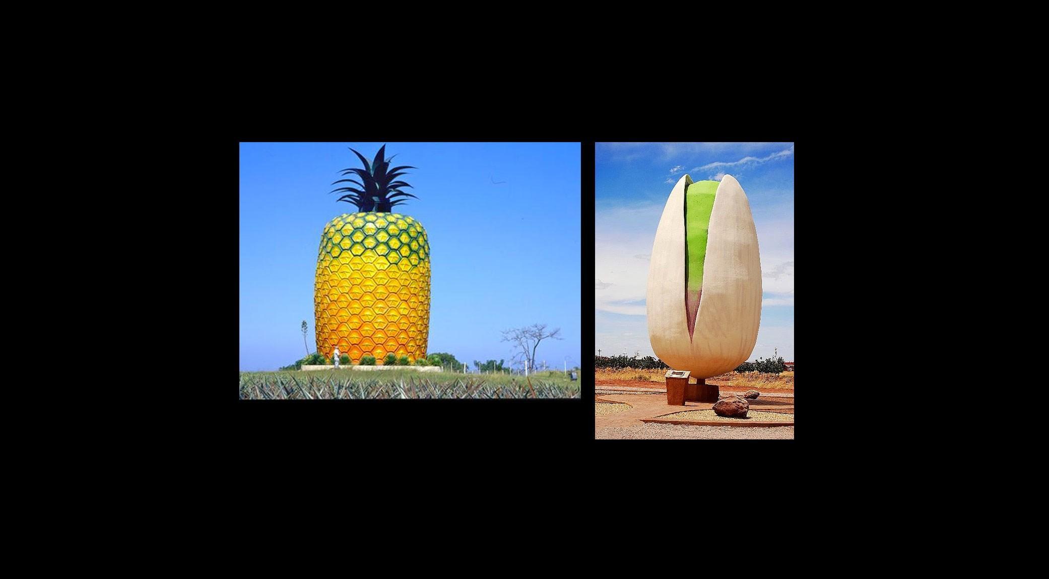 Ananas ou pistache ?