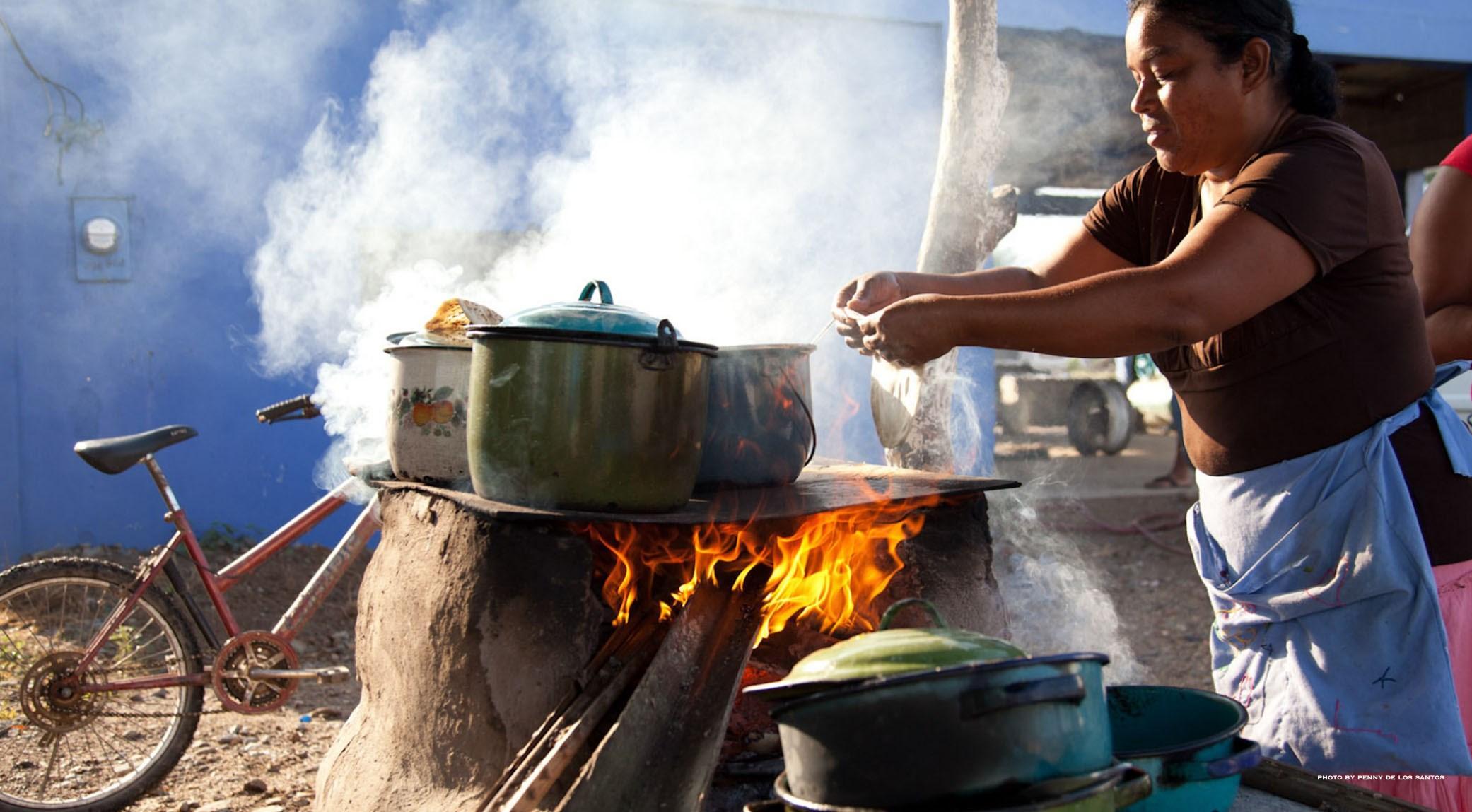 La cuisine sur la rue