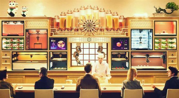 Sushi Singularity restaurant