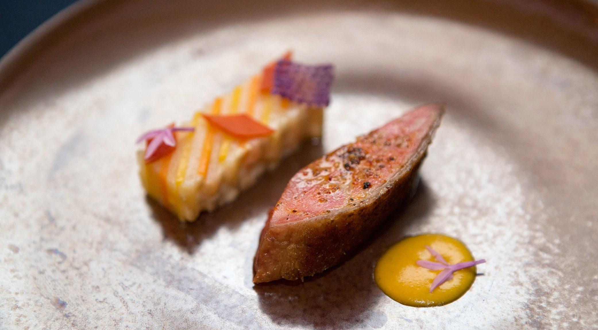 Mitch Lienhard - Canard rôti, orange épicée et Yam