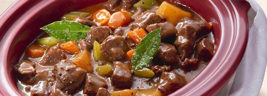 Viande cuite au slow cooker