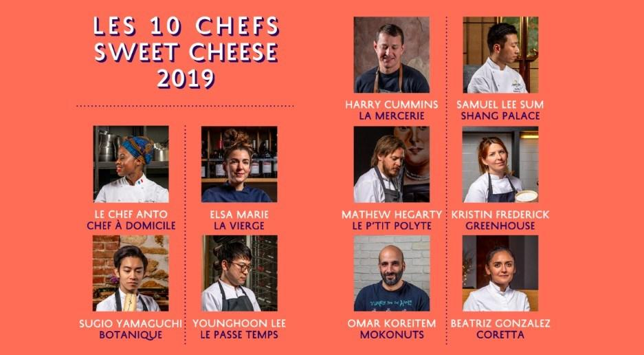 Chefs Sweet Cheese 2019