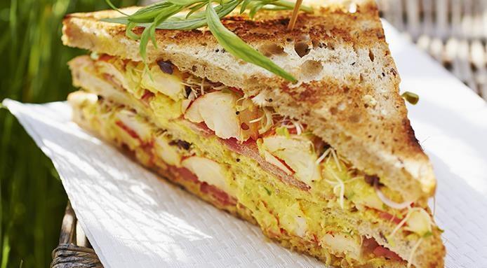Club sandwich homard