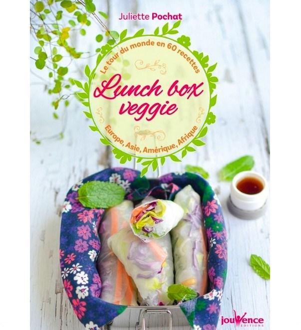 Lunch box veggie, Editions Jouvence