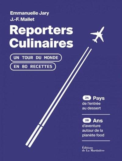 Reporters culinaires, Editions Martiniere