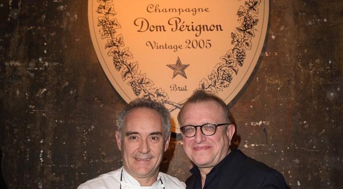 Ferran Adrià et Richard Geoffroy
