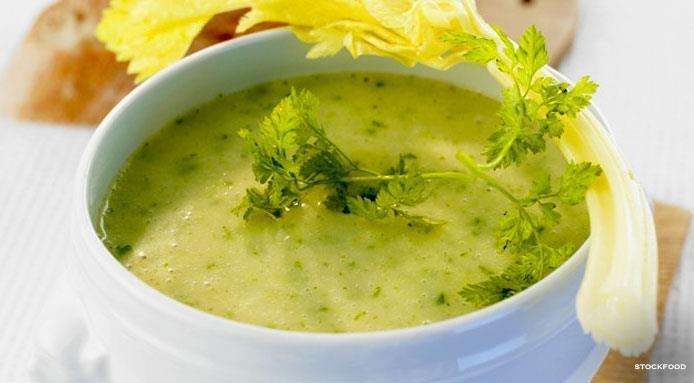 veloute aux herbes